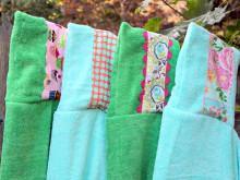 Embellished Hooded Towel Tutorial