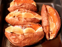 Brown Sugar Baked Sweet Potatoes