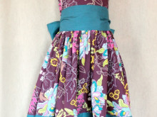 The Party Dress – Printable Pattern and Tutorial