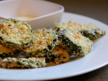 Baked Breaded Zucchini
