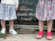Quick and Easy – Bubble Skirt Tutorial
