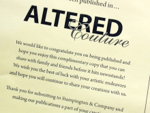 The Cottage Mama Published in Altered Couture Magazine
