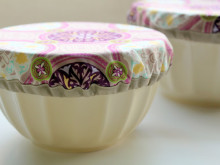 Purple Potluck Bowl Covers