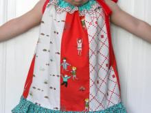 Pattern Remix: Little Apples Fat Quarter Pillowcase Dress