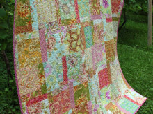 Freshcut Quilt { Machine Quilting }