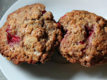 Strawberry Picking and Cinnamon Strawberry Muffin Recipe