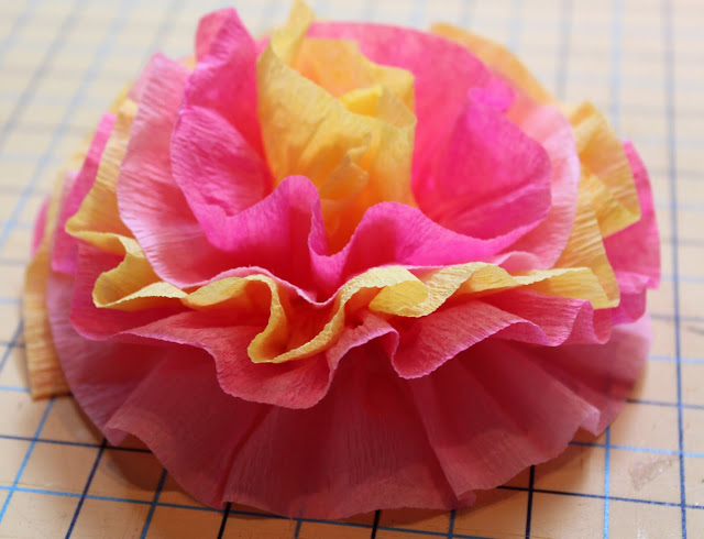Crepe Paper Flowers The Cottage Mama