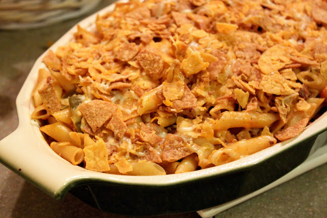 Mexican Taco Pasta Bake - The Cottage Mama