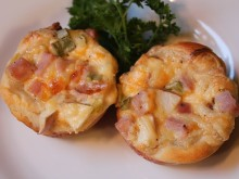 Apple, Ham and Cheese Dinner Cups