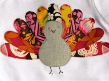 Gobble, Gobble: Turkey Shirt Tutorial