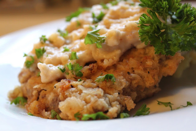 Country Fried Steak with Cream Gravy ~ Recipe - The ...
