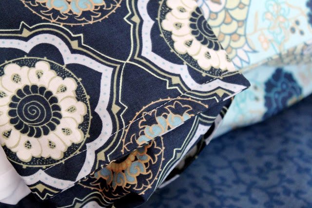 how to make a pillowcase with french seams