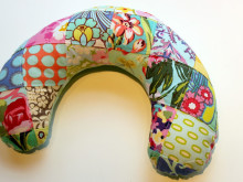 Patchwork Travel Neck Pillow ~ Pattern & Tutorial
