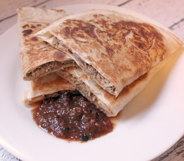Smoked Chipotle Pulled Pork Quesadillas ~ Recipe - The ...