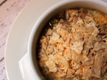 Slow Cooker Green Chicken and Rice Soup ~ Recipe