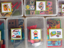Operation Organization: Velcro Toy Storage Labels