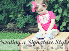 Guest Blogging at Project Run and Play: Creating a Signature Style