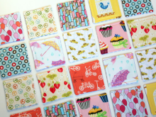"""I Spy"" Fabric Matching Game ~ Tutorial"