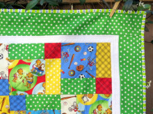 Berenstain Bears Disappearing Nine Patch Quilt Block Tutorial and Giveaway