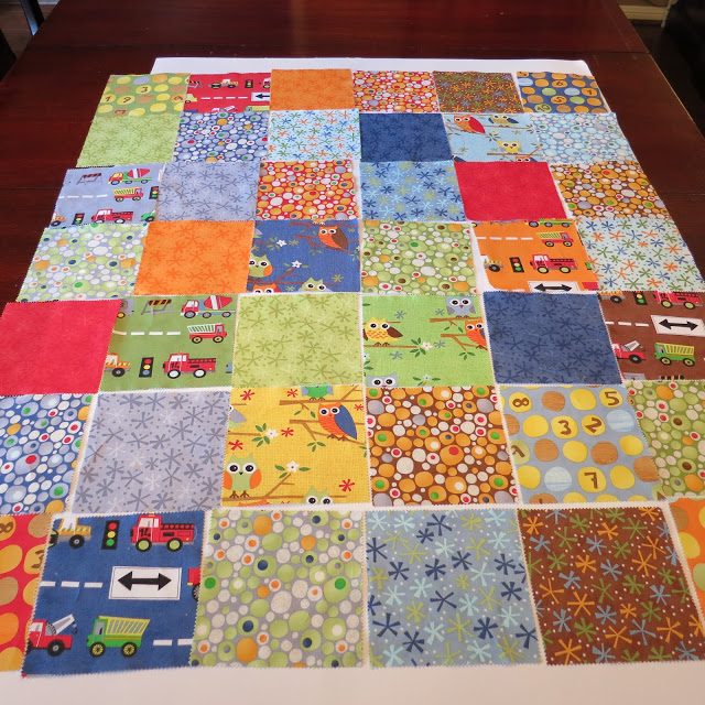 Charm Pack Baby Quilt Tutorial ~ Guess Whoooo Loves You? - The Cottage Mama
