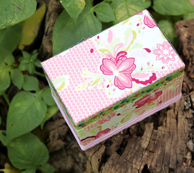 Img 8964 the cottage mama for Fabric covered boxes craft