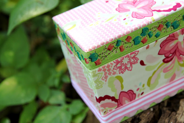 Img 8967 the cottage mama for Fabric covered boxes craft