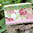 Fabric Covered Box Tutorial from The Cottage Mama