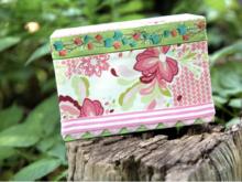 DIY Craft: No-Sew Fabric Covered Box Tutorial