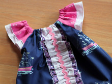 Another 'Out to Sea' Dress and a Little Sailor