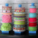 DIY Ribbon Holder Tutorial from The Cottage Mama. www.thecottagemama.com