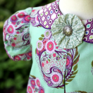 Classic Vintage May Dress from The Cottage Mama. www.thecottagemama.com