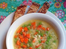 Vegetable Rice Soup ~ Recipe