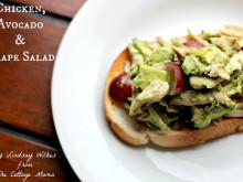 Chicken, Avocado and Grape Salad ~ Recipe