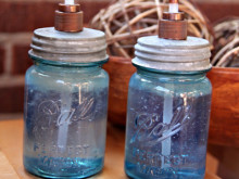 Mason Jar Soap Dispenser ~ Tutorial