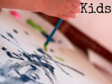 Creating With Kids: Painted Fabric