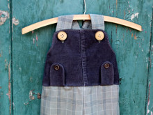 Upcycled Boys Dungaree Tutorial