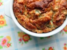 Broccoli & Onion Pie ~ Recipe