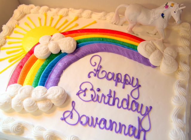 Rainbow Unicorn Birthday Party With Free Printables The