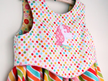 Rainbow Unicorn Birthday Party Dress