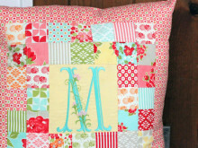Patchwork Pillow Pattern and Tutorial