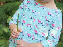 Back-to-School Bateaux Top Pattern: Sewing with Knits