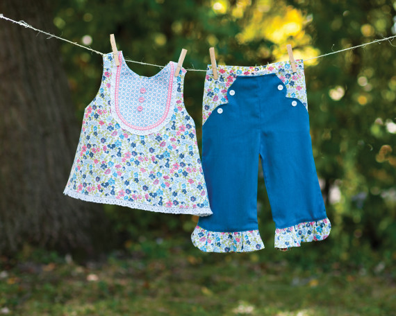 Sew Classic Clothes for Girls by Lindsay Wilkes. www.thecottagemama.com/book