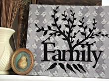 No-Sew Family Sign: Nancy Zieman's Applique Tour