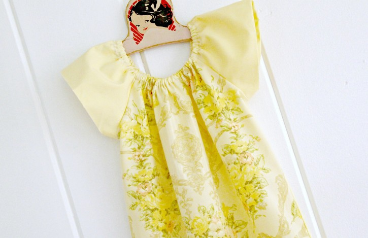 Sewing Clothes for Kindergarten from The Cottage Mama. www.thecottagemama.com. Peasant Dress.