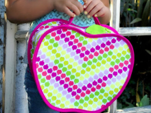 Apple Free Lunch Box Sewing Pattern and Tutorial