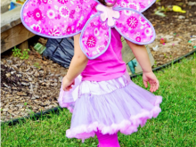 Free Fairy Fabric Wings Pattern and Tutorial