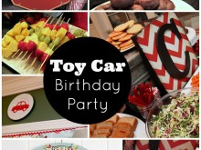 Toy Car Themed Boys Birthday Party