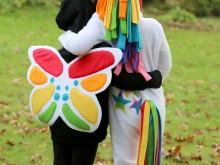 Rainbow Unicorn & Rainbow Butterfly Costumes