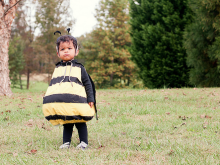 Bumblebee and Bee Keeper Halloween Costume Tutorial