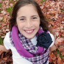 Cuffed Infinity Scarf Tutorial from The Cottage Mama. www.thecottagemama.com